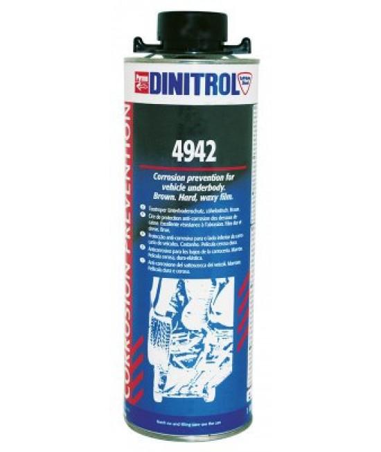 Dinitrol(Динитрол) 4942 антикорозионна защитна вакса кафява 1л